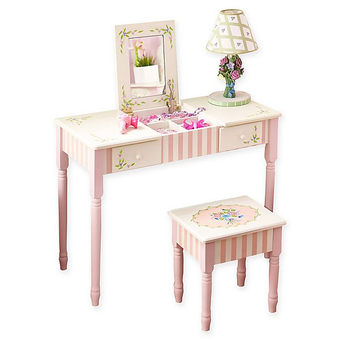 Alternate image 1 for Fantasy Fields Bouquet Vanity Table