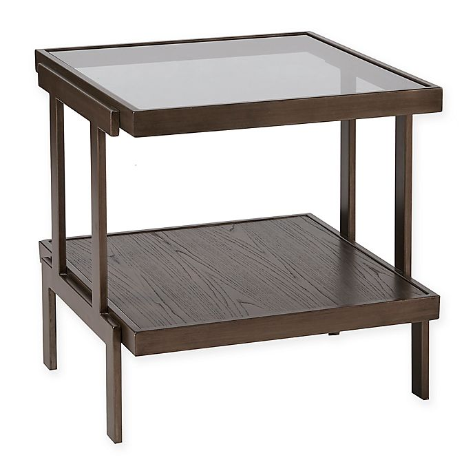 Alternate image 1 for Madison Park Bailey End Table in Dark Brown