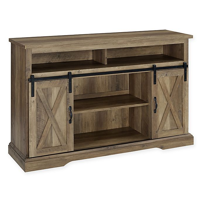 Alternate image 1 for Forest Gate™ Englewood 52-Inch Barn Door TV Stand