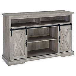 Forest Gate™ Englewood 52-Inch Barn Door TV Stand