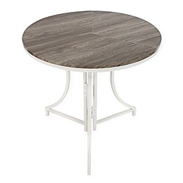 SpaceMaster™ Round Wood Pattern Folding Table