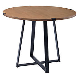 Forest Gate™ Sage 40-Inch Round Metal Wrap Dining Table