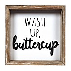 Prinz Wash Up Buttercup Wall Art in White