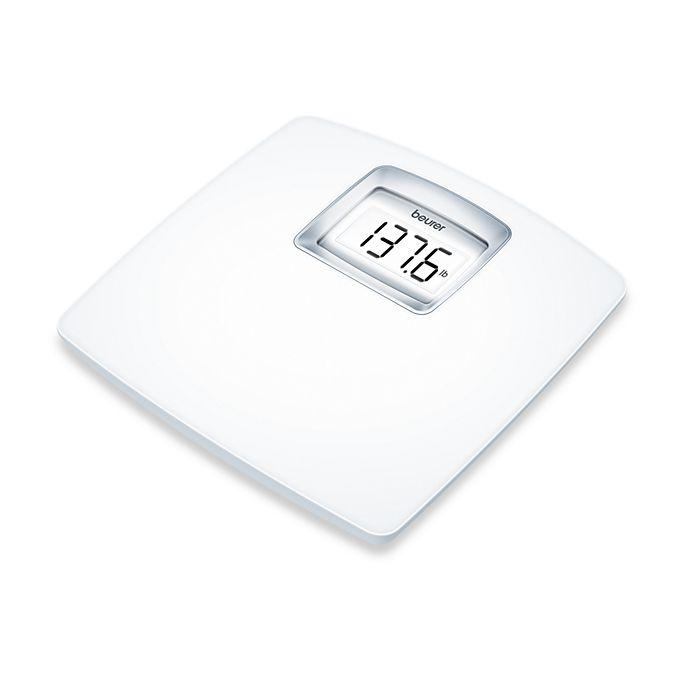 Digital Bathroom Scales For Sale: Beurer White LCD Digital Bathroom Scale