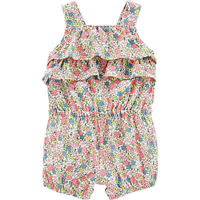 carter's® Floral Ruffle Romper