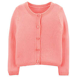 OshKosh B'gosh® Cardigan in Coral