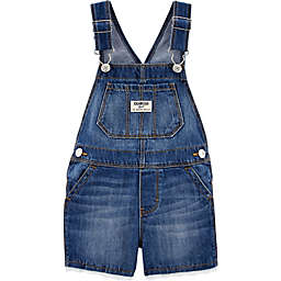 OshKosh B'gosh® Denim Eyelet-Trim Shortall