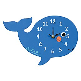 Trend Lab® Whale Wall Clock in Blue