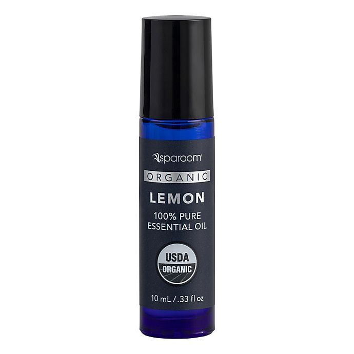 Alternate image 1 for SpaRoom® Lemon 10 mL Organic Essential Oil