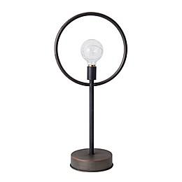Elements by Pfaltzgraff® Round LED Bulb 21-Inch Metal Stand