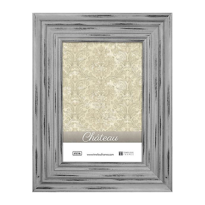 Alternate image 1 for Chateau 5-Inch x 7-Inch Picture Frame in Distressed Grey