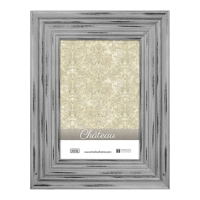Alternate image 1 for Chateau 8-Inch x 10-Inch Picture Frame in Distressed Grey