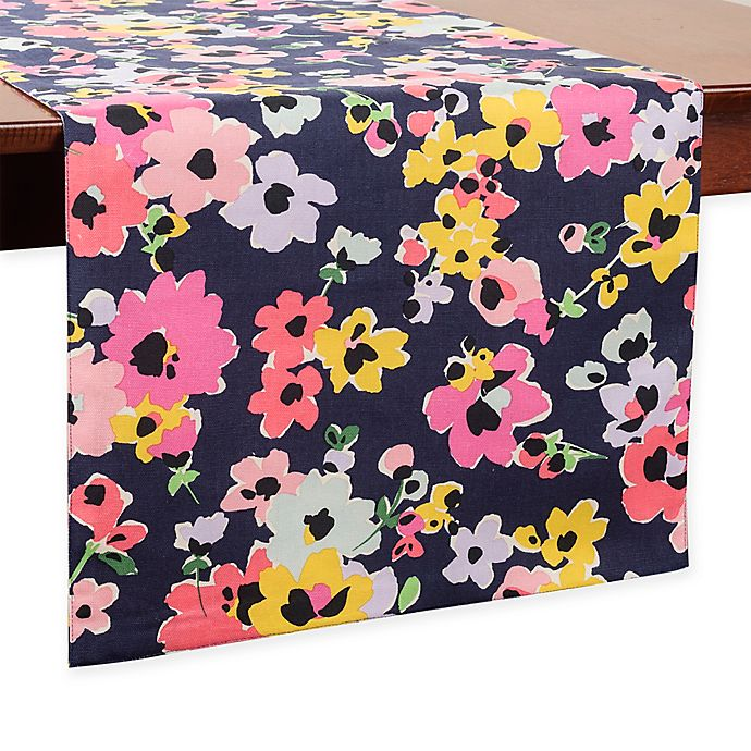 Alternate image 1 for kate spade new york Wildflower Bouquet 72-Inch Table Runner