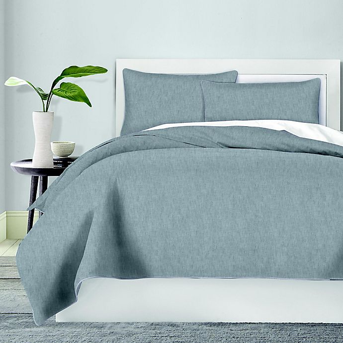 Alternate image 1 for Canadian Living Chambray Bedding Collection