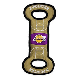 NBA Los Angeles Lakers Pet Basketball Court Tug Toy