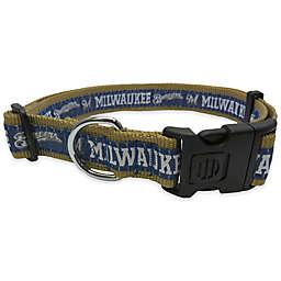 MLB Milwaukee Brewers Extra Large Pet Collar