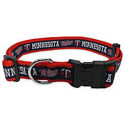 MLB Minnesota Twins Extra Large Pet Collar