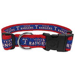 MLB Texas Rangers Extra Large Pet Collar