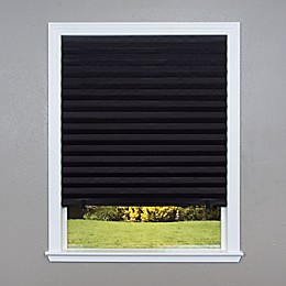 Redi Shade Blackout Cordless 48-Inch x 72-Inch Window Shade in Black
