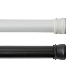 Fluted Utility 42-Inch - 72-Inch Adjustable Tension Rod