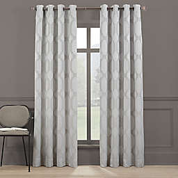 Brookstone® Paxton 84-Inch Grommet 100% Blackout Window Curtain Panel in Dark Grey
