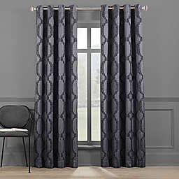 Brookstone® Paxton 84-Inch Grommet 100% Blackout Window Curtain Panel in Indigo