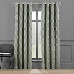 Brookstone® Paxton 95-Inch Grommet 100% Blackout Window Curtain Panel in Basil