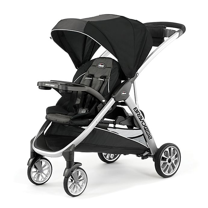 Alternate image 1 for Chicco® BravoFor2™ Double Stroller in Iron