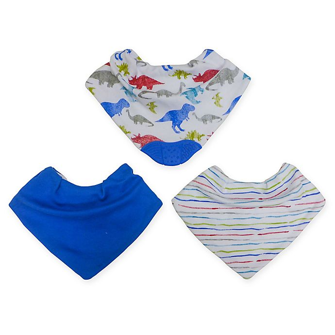 Alternate image 1 for Neat Solutions® 3-Pack Bandana Bibs with Teether