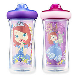 Disney® Sofia ImaginAction™ 2-Pack 9 oz. Insulated Hard Spout Sippy Cups
