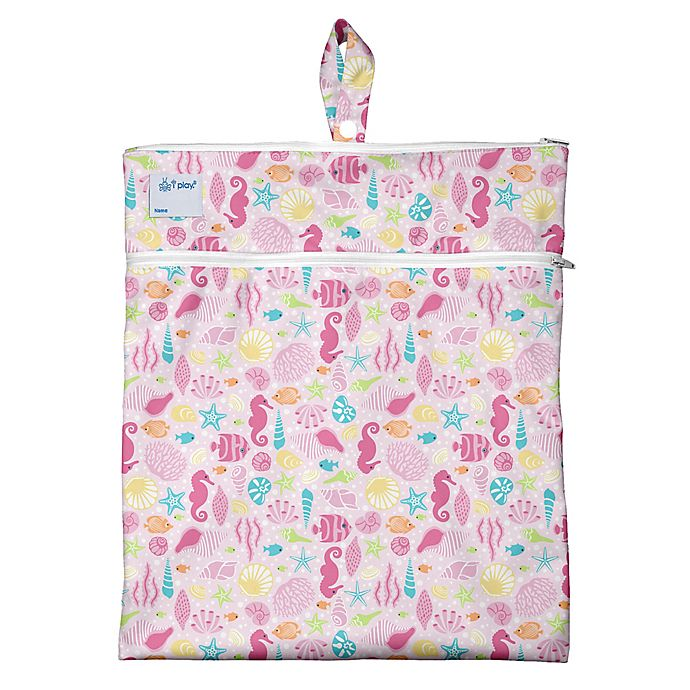 Alternate image 1 for i play.® Sealife Wet/Dry Bag in Pink