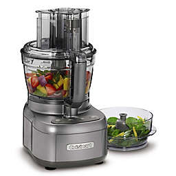 Cuisinart® Elemental Food Processor with 11-Cup and 4.5-Cup Workbowls in Gunmetal