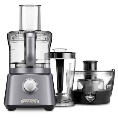 Cuisinart® Kitchen Central With Blender, Juicer And Food Processor In Gunmetal by Bed Bath And Beyond