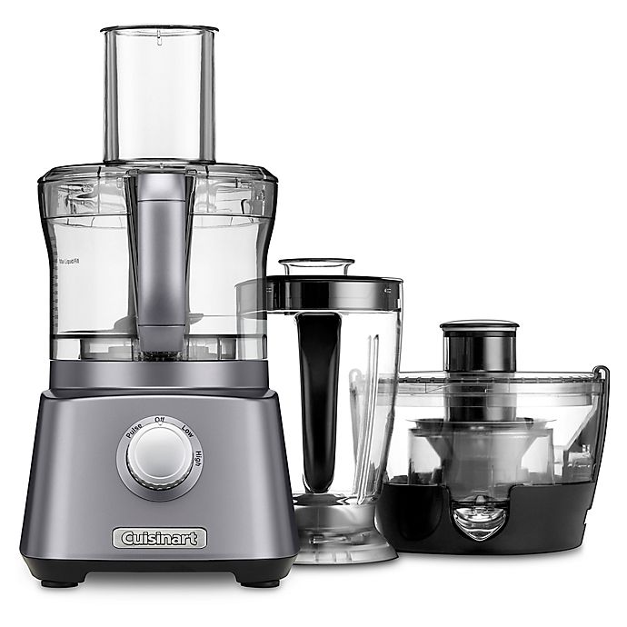 Alternate image 1 for Cuisinart® Kitchen Central with Blender, Juicer and Food Processor in Gunmetal