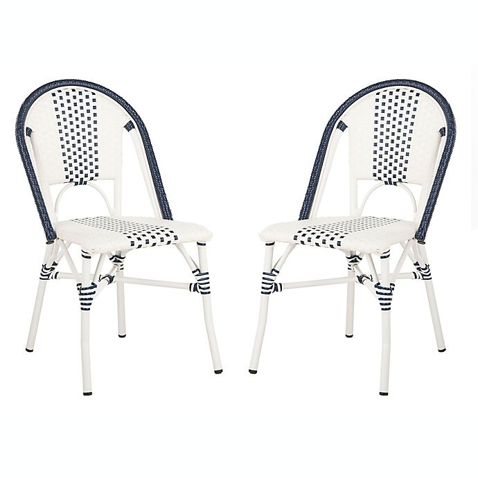 Safavieh Zoya Stackable Patio Chairs In