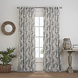 Coastal Life® Palmetto Sheer Panel in Black