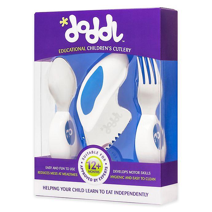 Alternate image 1 for Doddl 3-Piece Child Cutlery Set