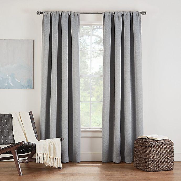 Alternate image 1 for Eclipse Twilight Luna Rod Pocket Room Darkening Window Curtain Panel