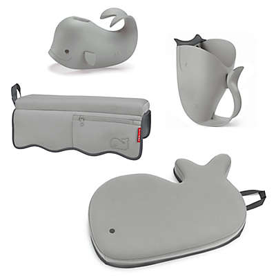 SKIP*HOP® Moby 4-Piece Bath Time Essentials Kit in Grey