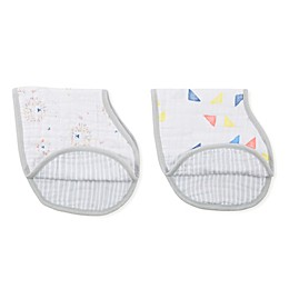 Aden + Anais 2-Pack Leader of the Pack Burpy Bibs