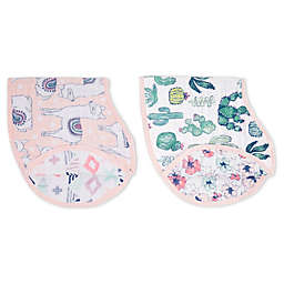 Aden + Anais 2-Pack Trail Blooms Burpy Bibs