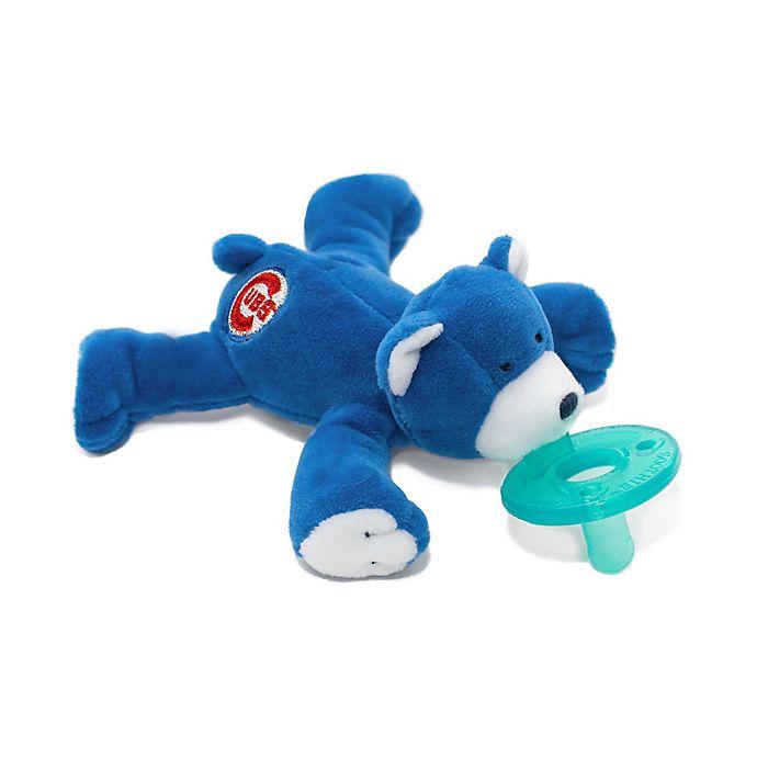 Alternate image 1 for WubbaNub® MLB® Chicago Cubs Bear Pacifier