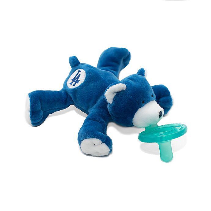 Alternate image 1 for WubbaNub® MLB® Los Angeles Dodgers Bear Pacifier
