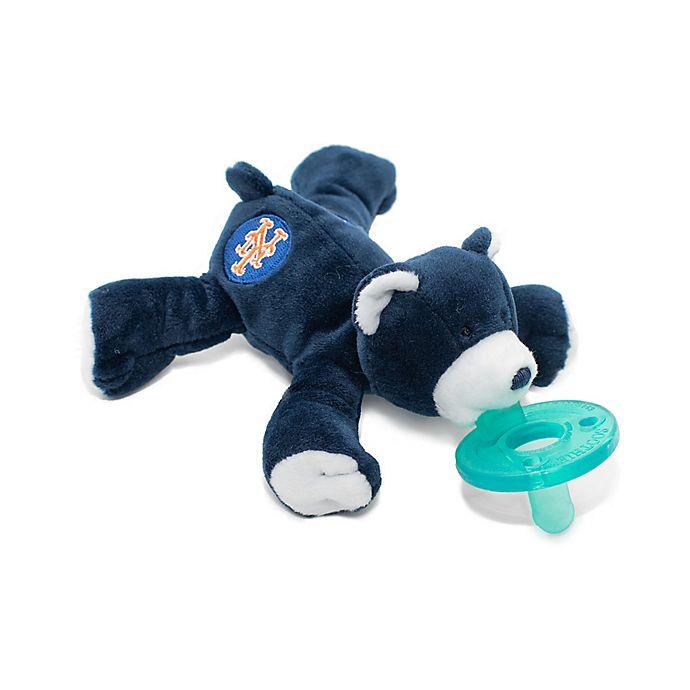 Alternate image 1 for WubbaNub® MLB® New York Mets Bear Pacifier