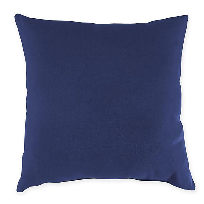 Alternate image 1 for Jordan Manufacturing Aypace Fog Oblong Indoor/Outdoor Throw Pillow
