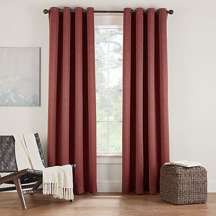 Alternate image 1 for Eclipse Twilight Luna 108-Inch Grommet Room Darkening Window Curtain Panel in Cinnamon