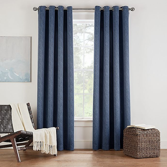 Alternate image 1 for Eclipse Twilight Luna Grommet Room Darkening Window Curtain Panel