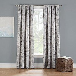 Eclipse Twilight Luna Rod Pocket Room Darkening Window Curtain Panel