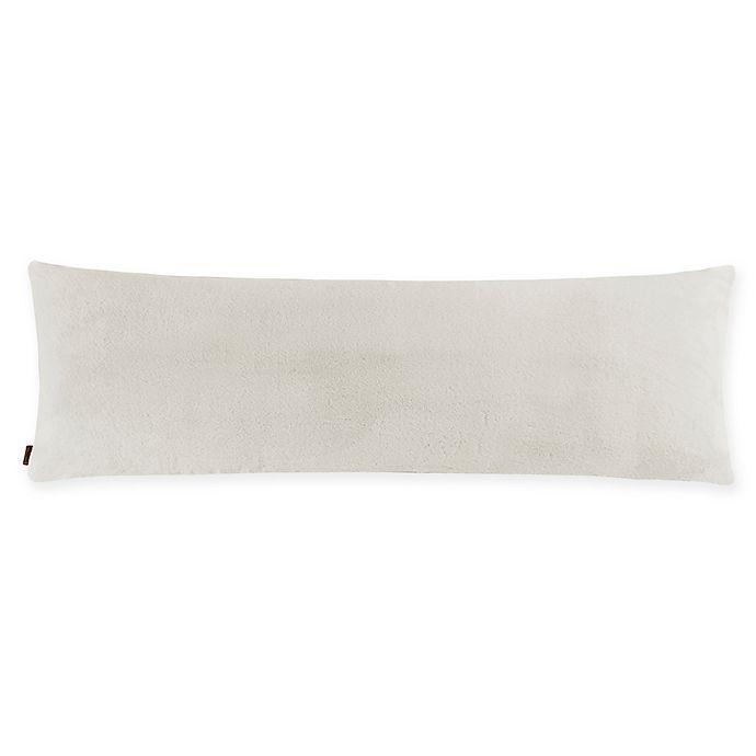 Alternate image 1 for UGG® Polar Body Pillow Cover in Snow