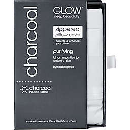 Glow™ 300-Thread-Count Charcoal-Infused Standard/Queen Pillowcase in Off-White